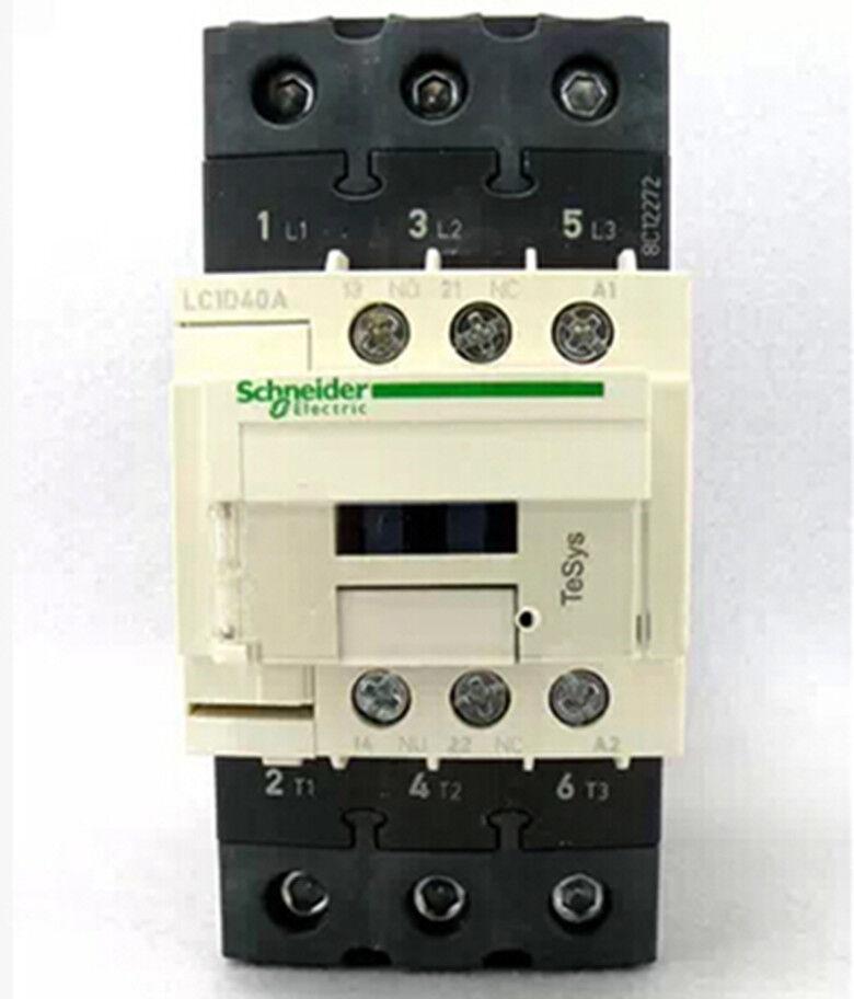 1pc new schneider contactor lc1d40a ac contactor lc1-d40aq7c