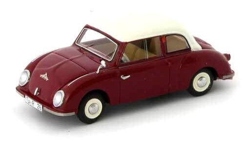 Wonderful modelcar MAICO 400 4 (D) 1955 - darkred  - 1 43 - ltd.333