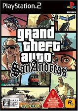 Used PS2 Grand Theft Auto San Andreas Japan Import (Free Shipping)