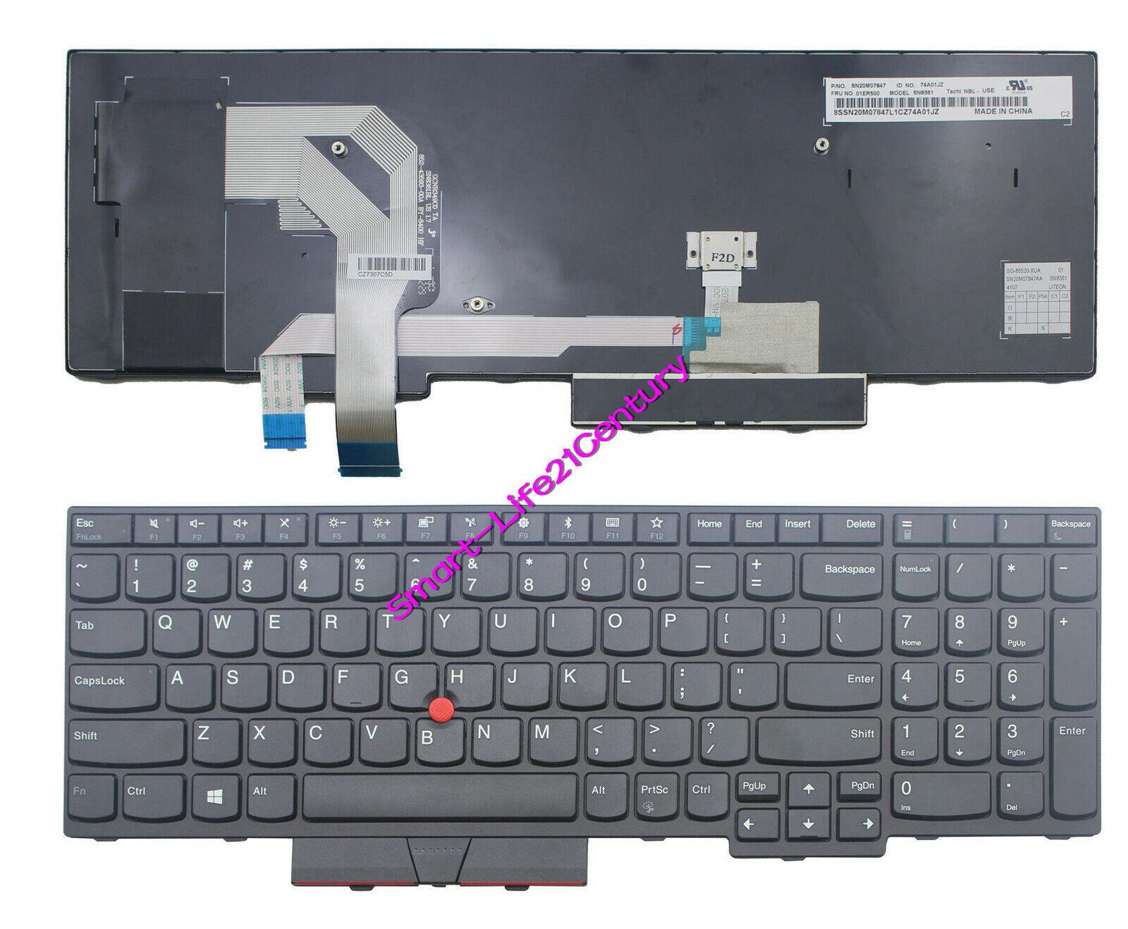 For lenovo IBM Thinkpad T570 P51s P52s (Not for P51 P52) keyboard non-backlit