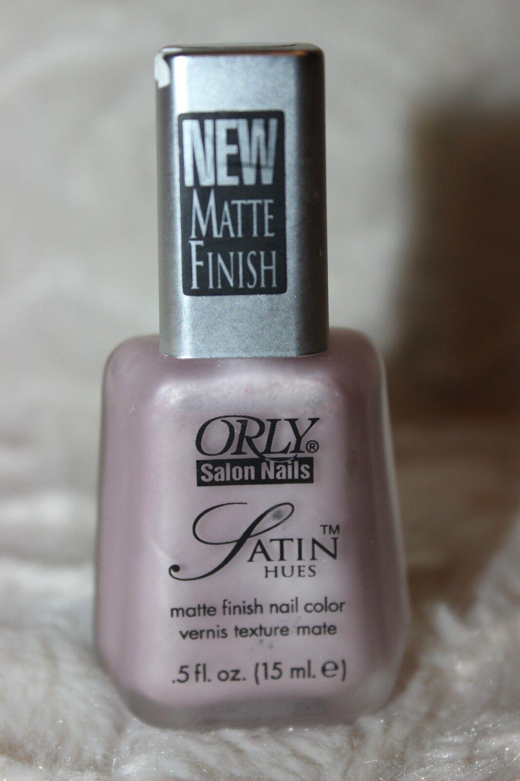 ORLY Salon Nails Satin Hues Matte Nail Polish Lacquer 704 Satin ...