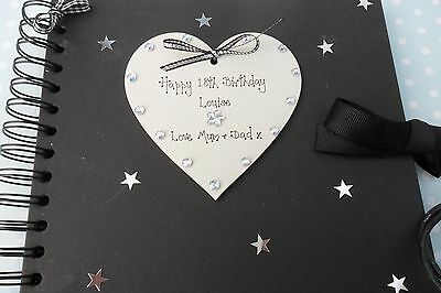 40th 30th 21st 18th 50thany Birthday personalised photo album  scrapbook gift