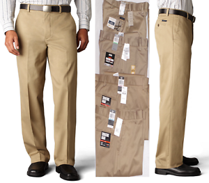 0fb6dd5a4424cd Dockers D3 Signature Khaki Classic Fit Flat Front Pants Dark Khaki ...