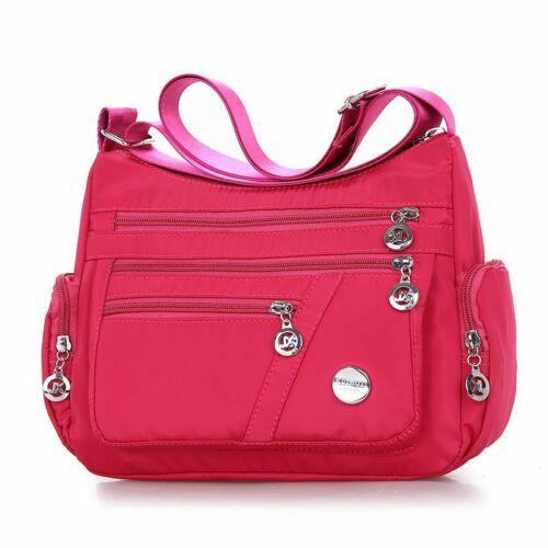 Women Tote Messenger Crossbody Bags Handbag Ladies Shoulder Bag Purse Waterproof