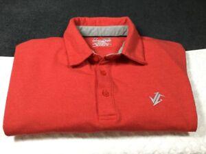 Details about Jolt Gear JG Mens Golf Polo Shirt Athletic Short-Sleeve Red Medium