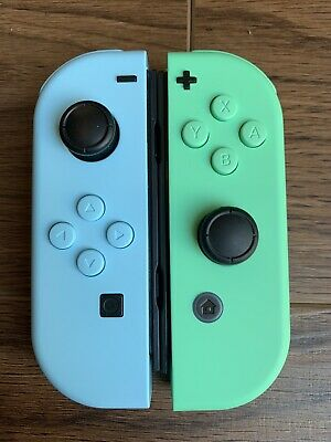 CUSTOM Animal Crossing Inspired Nintendo Switch Joycons ...