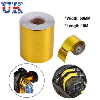 Powerlite Gold Reflective Thermal Heat Protection Tape 50mm x 9m