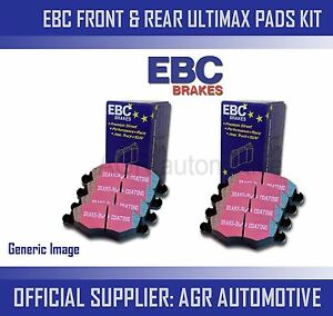 EBC-FRONT-REAR-PADS-KIT-FOR-VAUXHALL-VX220-2-0-TURBO-2003-05