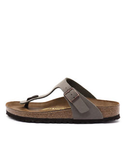 New-Birkenstock-Gizeh-Stone-Womens-Shoes-Casual-Sandals-Sandals-Flat