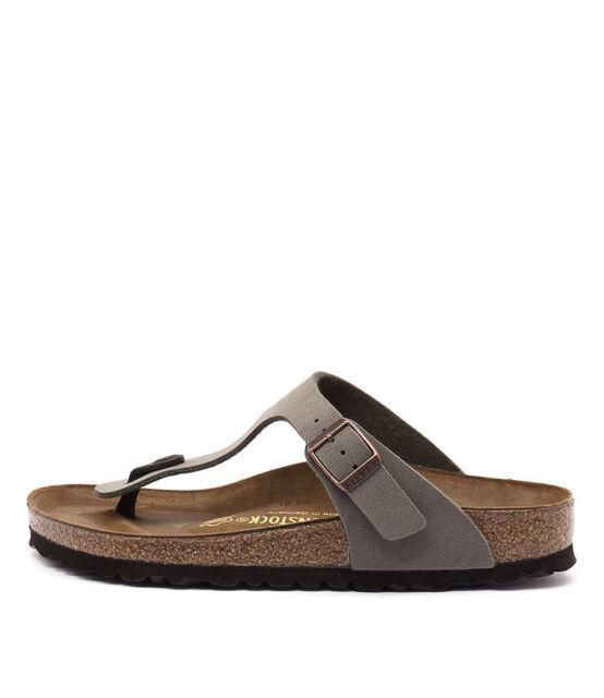 d65f7de59f73 New Birkenstock Gizeh Stone Womens Shoes Casual Sandals Sandals Flat