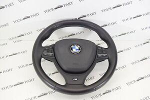 BMW-F07-F10-F11-M-Volant-Sport-avec-Droit-Pedales-Airbag-OEM-2012