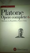 BIBLIOTECA UNIVERSALE PLATONE - OPERE COMPLETE 6