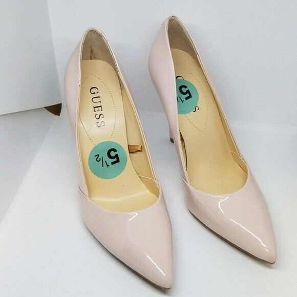 New Guess Maisiee-c Maisiee-c Maisiee-c nude patent leather pumps 5.5M e26f44