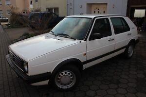 VW-Golf-2-FUNCTION-1992er-Garagenfund-FAST-OLDTIMER-73900km-SAUBERER-Topzustand