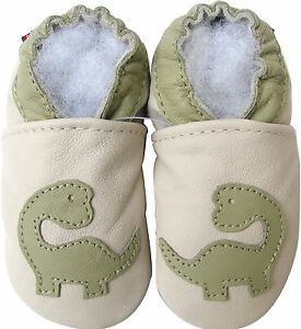 carozoo-soft-sole-leather-kids-shoes-dinosaur-cream-5-6y