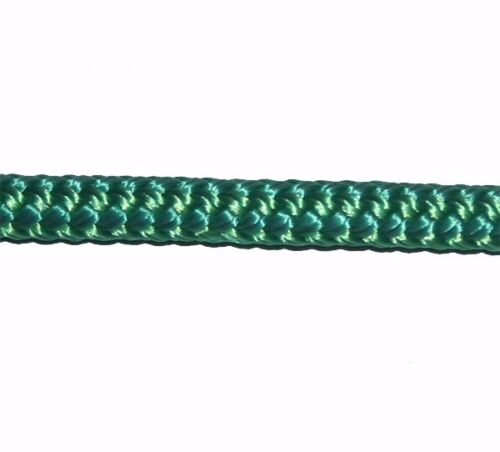 "3/' NAUTOS- MRDB026-6MM  // 1//4/"" -DOUBLEBRAID SELL BY YARD SOLID GREEN"