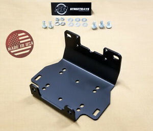 Winch Kit 2000 lb For Yamaha Kodiak 700 4x4 2016-2020 Steel Cable