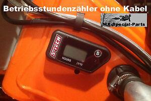Contatore-ore-di-funzionamento-senza-cavo-KTM-250-EXC-F-MOTORE-ORA-metro