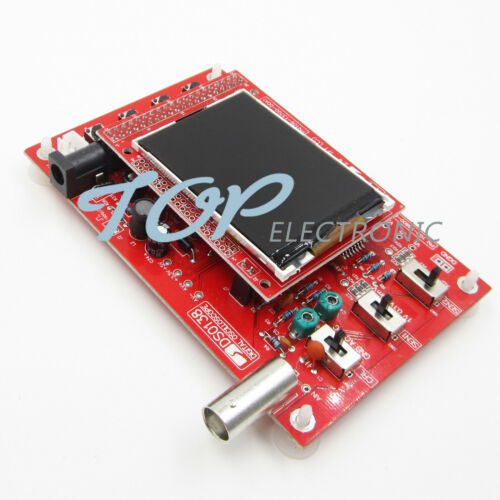 "DSO138 2.4/"" TFT Digital Oscilloscope 1Msps Welded Probe Analog Bandwidth"