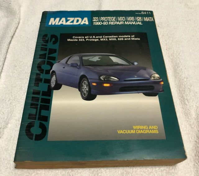 Chilton Repair Manual 1990