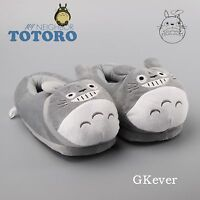 11'' Cute My Neighbor Totoro Soft Plush Slippers Home Warm Anime Shoes Free Size