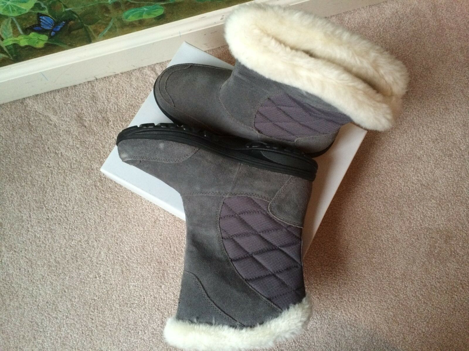 Columbia Ice Maiden Waterproof Snow Rain Rain Rain Winter Boots Slip On Size 6 NEW 37133f