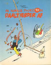 FAMILIE DOORZON 10 - DAALT VERDER AF  - Gerrit de Jager