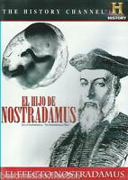 El Hijo De Nostradamus / Son Of Nostradamus Dvd The History Channel Sealed