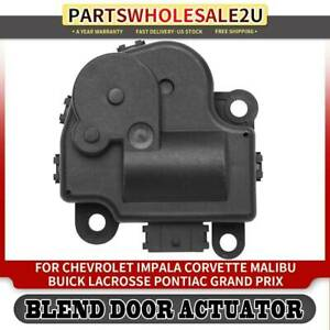 Blend Door Actuator For Chevy Impala Monte Carlo Buick Pontiac 604 108 22754988 Ebay