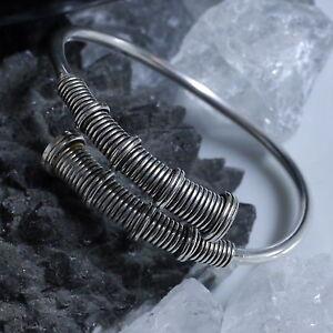 Trendmarkierung 925 Silber Massiver Armreif Keltische Armspange Handgeschmiedet Spiralarmreif Armbänder Rollenspiele & Tabletops