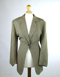Jacques-Vert-Womens-Brown-Suit-Jacket-Size-16-Regular