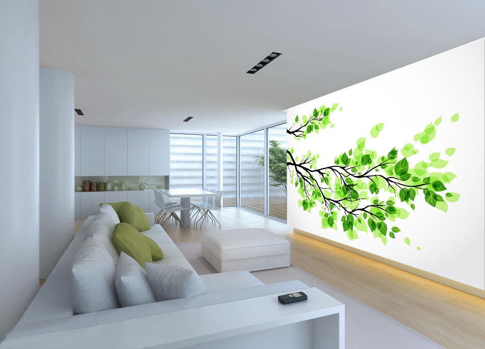 3D Spring Germination Tree 833 Wall Paper Paper Paper Wall Print Decal Wall Deco Indoor Wall 33963c