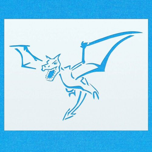 Aerodactyl Pokemon Mylar Airbrush Painting Wall Art Stencil