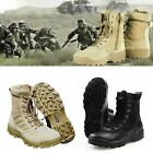 Men Forced Entry Tactical Deployment Boots Army Combat Military Duty Work Shoes