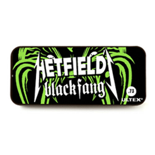 Metallica Dunlop James Hetfield Black Fang Pick Tin and 6 Picks  .73mm