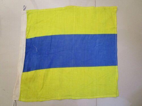 "Nautical // Boat 15/"" X 15/"" D 100/% Cotton – Marine Code Naval Signal Flag"