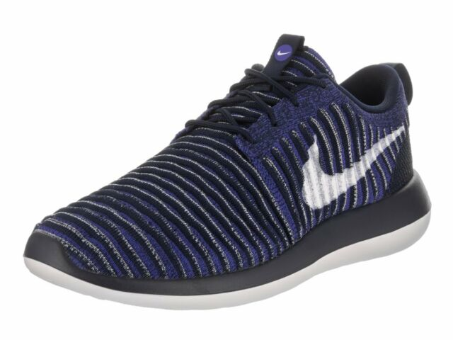 promo code ed6a4 5e155 Nike Roshe Two Flyknit 2 Men Lifestyle SNEAKERS College Navy 844833-402 9.5