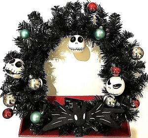image is loading disney nightmare before christmas jack skellington wreath ornaments - Jack Skellington Christmas Decorations