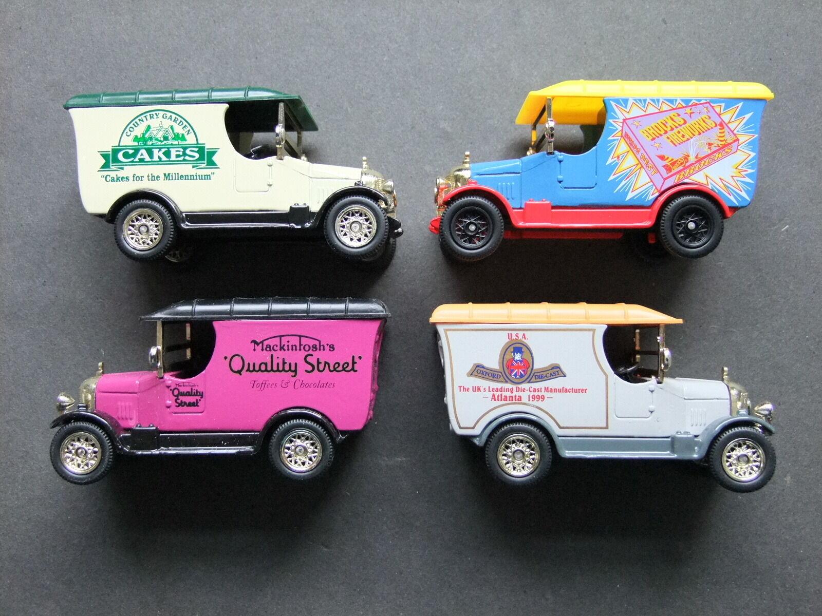 Morris Bullnose Van Oxford Diecast Ltd Edition - various liveries available