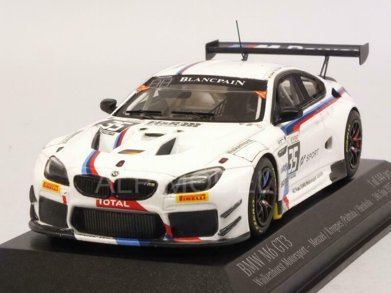 BMW M6 GT3 Spa 2017 Menzel - Krognes - Palttala - 1 43 MINICHAMPS 437172635