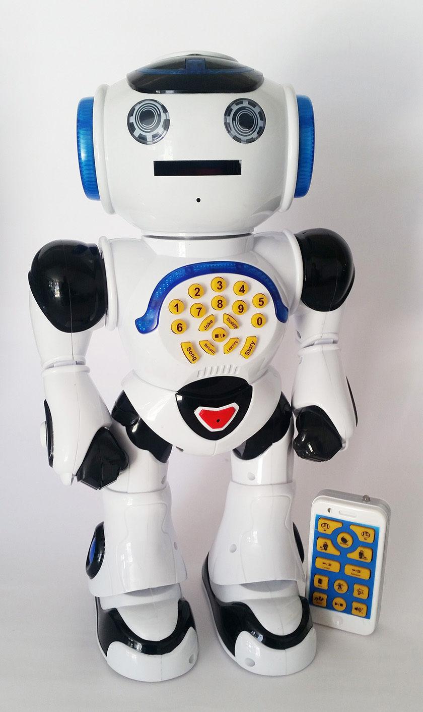Robot Inteligente Inteligente Inteligente Control Remoto Walking, baile, aprendizaje & Luz de disparo 135328