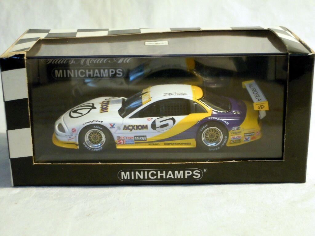 MINICHAMPS 430145605  OLDSMOBILE AURORA GTS 1, Daytona 1996  5, NOUVEAU & NEUF dans sa boîte