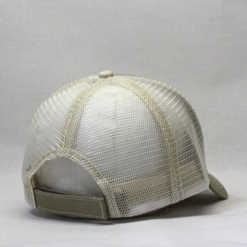 Plain Cotton Twill Mesh Adjustable Trucker Baseball Cap