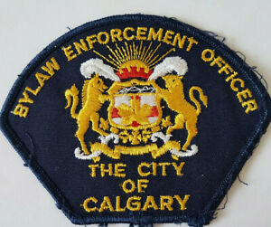 Vintage-Pre-Owned-The-City-of-Calgary-Bylaw-Enforcement-Officer-shoulder-patch