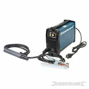 Silverline 100A MMA/TIG Inverter Arc Welder Kit 25 - 100A 846386