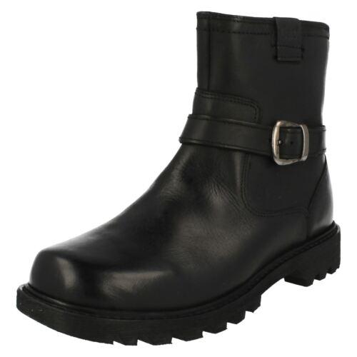 Ladies Black Cat Ankle Biker' Boots 'everyday 7qrdn847w