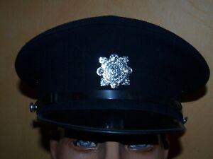 Polizei Police Mütze Helm Hut Cap Abzeichen Irland
