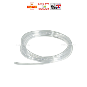 2x4mm (Thick Wall) & 2,5x4mm PVC CLEAR TRANSPARENT TUBE FLEXIBLE HOSE PIPE POND