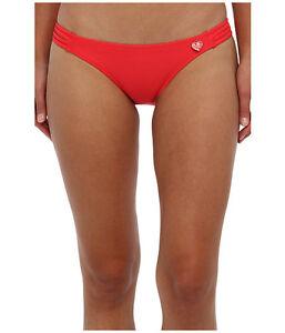 Body Glove Smoothies Flirty Surf Rider Swim Bikini Bottom Black Size Medium