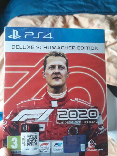 F1 2020 DELUXE SCHUMACHER EDITION PS4 - PLAYSTATION 4  ITALIANO - FORMULA 1 2020